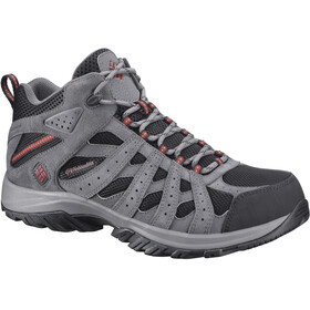 Columbia Canyon Point Mid WP Schoenen Heren grijs/zwart
